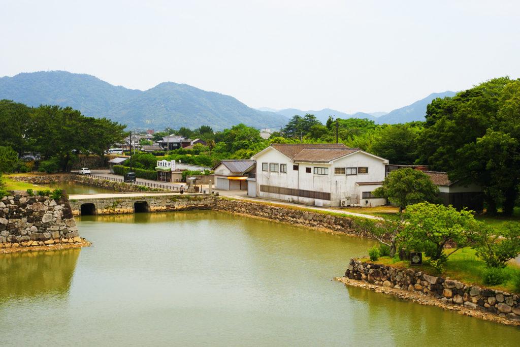 世界遺産 萩城址指月公園